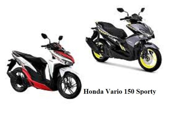 Honda Vario 150 Sporty Series
